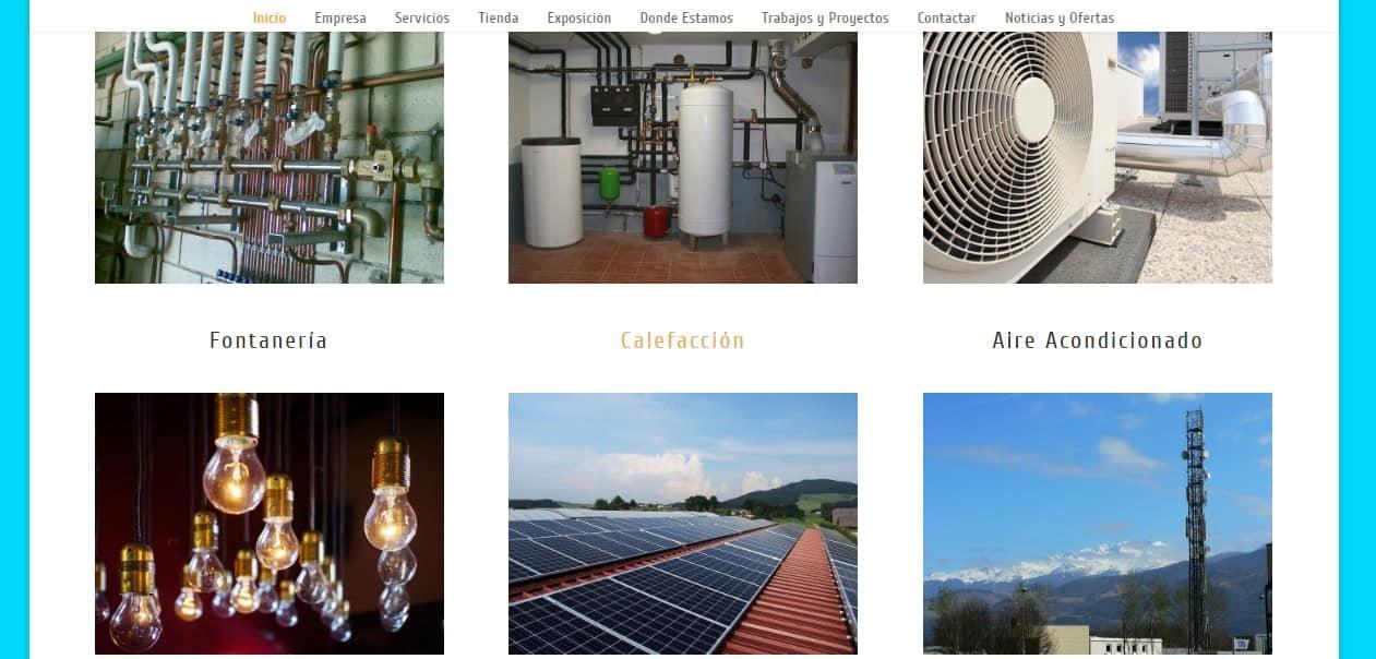 Instalaciones Blasco Ainsa: Fontanería, Calefacción, aire acondicionado, …