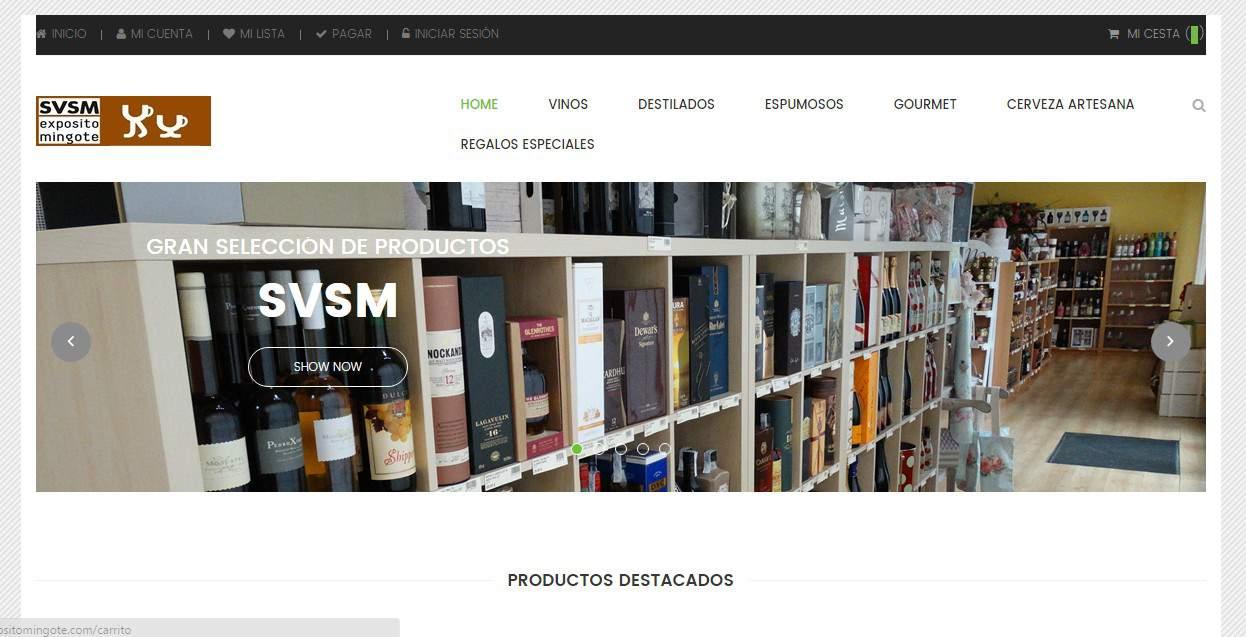 Nueva Tienda Virtual www.ExpositoMingote.com