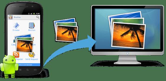 Como pasar fotos y archivos del móvil al ordenador
