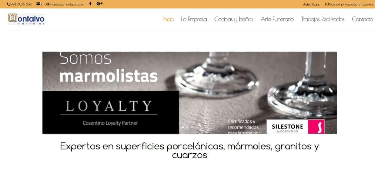 Mármoles Montalvo Barbastro – Cocinas, Baños , Arte funerario